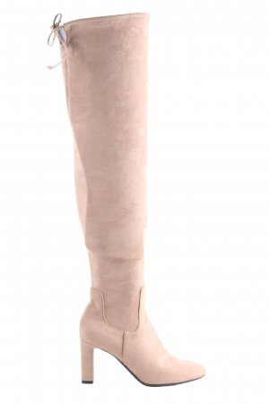 H&M Overknees pink Casual-Look