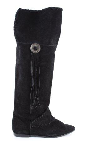H&M Overknees black casual look