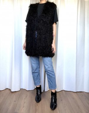 H&M Oversize Fellweste Cosy Clean Chic Minimalist Trend Blogger Street Style