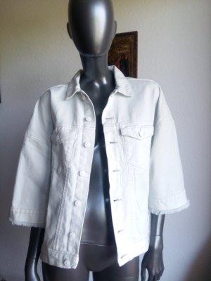 H&M Oversize Jeans Jacke Gr. M/L hellblau