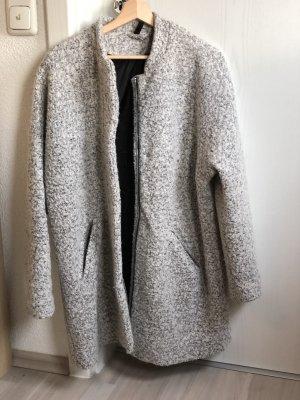 H&M Oversize-Mantel in steingrau
