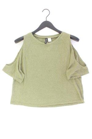 H&M Camisa holgada verde oliva Viscosa