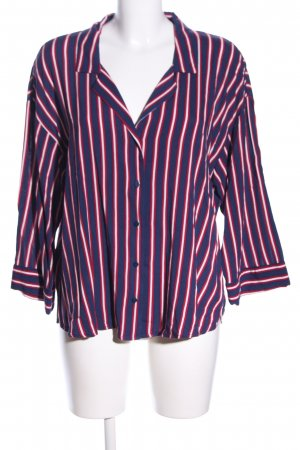 H&M Oversized Bluse Streifenmuster Business-Look
