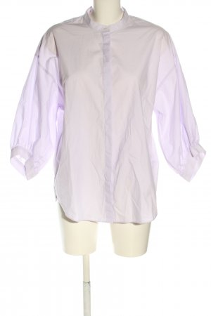 H&M Oversized Bluse lila Business-Look