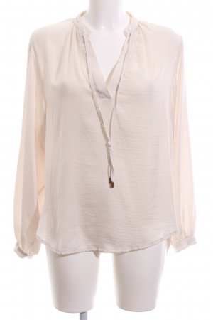 H&M Oversized Bluse creme Business-Look