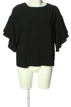 H&M Blouse oversized noir style décontracté