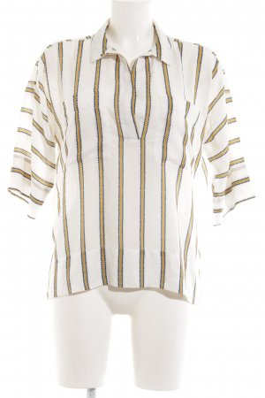 H&M Oversized Bluse Allover-Druck Casual-Look