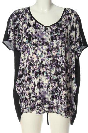 H&M Blusa ancha estampado con diseño abstracto look casual