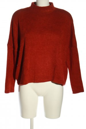 H&M Oversized Pullover rot Casual-Look