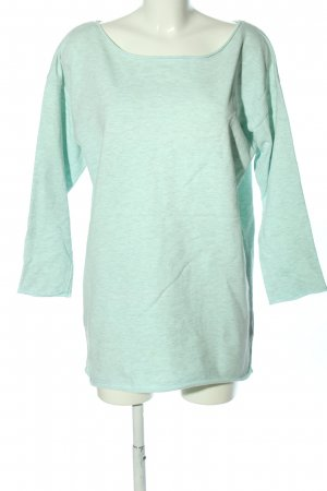 H&M Oversized Pullover türkis meliert Casual-Look