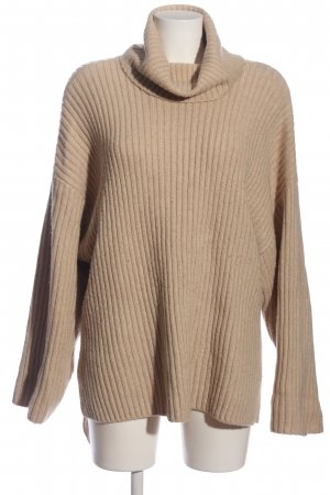 H&M Oversized Pullover creme meliert Casual-Look