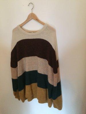 H&M Oversized Sweater multicolored