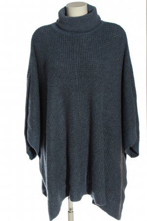 H&M Grof gebreide trui blauw casual uitstraling