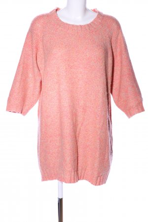 H&M Oversized Pullover pink meliert Casual-Look