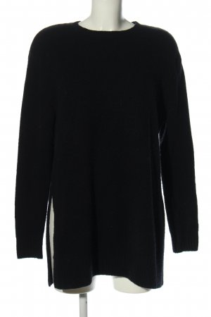H&M Oversized Pullover schwarz Casual-Look