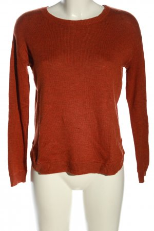 H&M Oversized Sweater brown flecked casual look