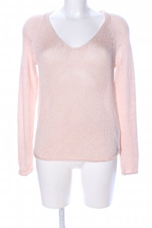 H&M Oversized Pullover pink Casual-Look