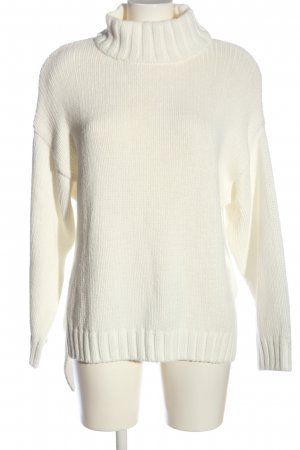 H&M Oversized Pullover weiß Casual-Look