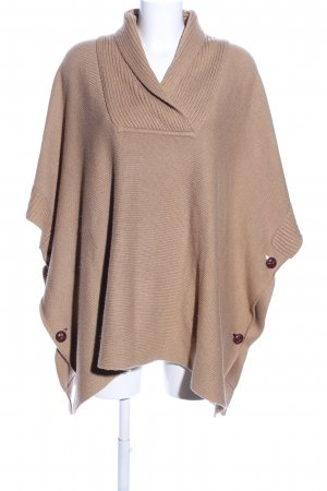 H&M Oversized Pullover braun Business-Look