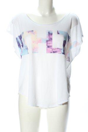 H&M Oversized Shirt Motivdruck Casual-Look