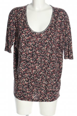 H&M Oversized Shirt Allover-Druck Casual-Look