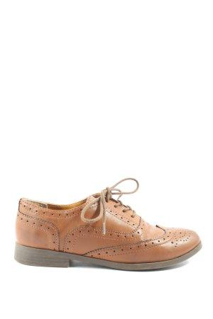 H&M Chaussure Oxford brun style décontracté