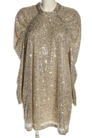 H&M Robe à paillettes doré style extravagant