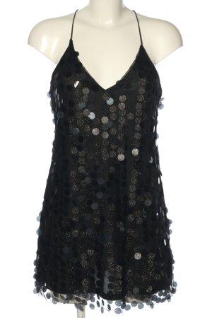 H&M Vestido de lentejuelas negro elegante