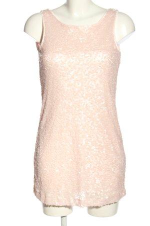 H&M Pailettenkleid nude Elegant