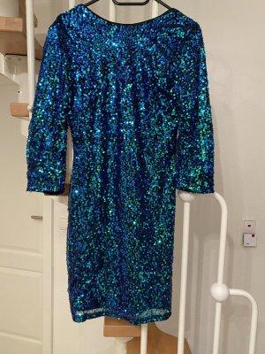 H&M Pailletten Kleid