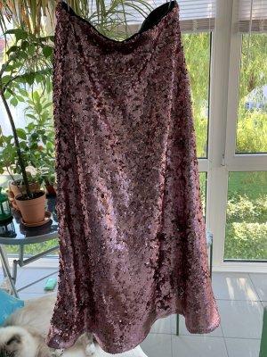 H&M Maxi Skirt dusky pink