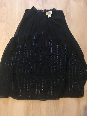 H&M ANGORA BLEND Top línea A negro