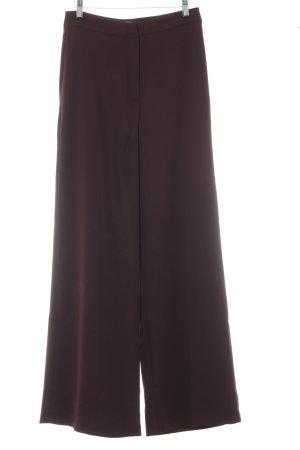 H&M Pantalon palazzo brun rouge élégant