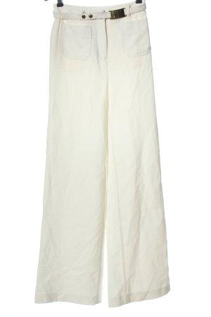 H&M Spodnie palazzo biały W stylu casual