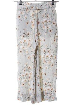 H&M Pallazzobroek bloemenprint casual uitstraling