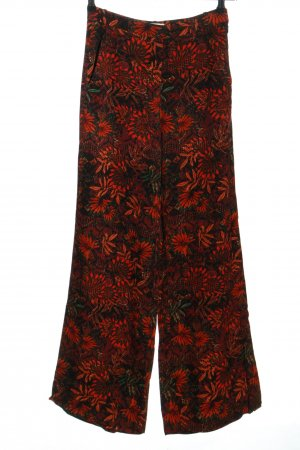 H&M Palazzo Pants flower pattern casual look