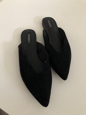 H&M Sabots black