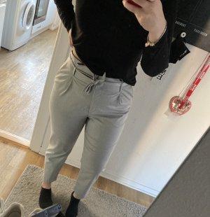 H&M Pantalon fuselé gris-gris clair