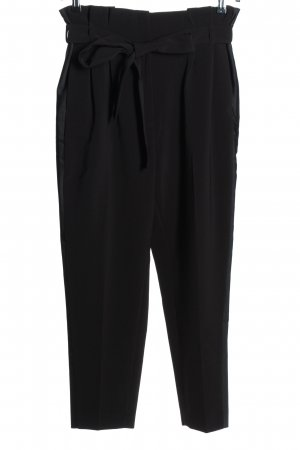 H&M Paperbag-Hose schwarz Business-Look keine Textilangabe