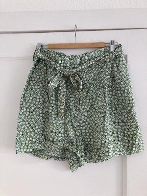 H&M Paperbag Shorts gemustert
