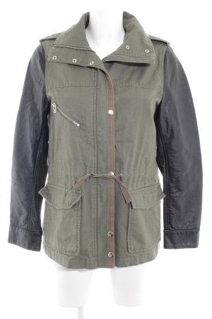 H&M Parka kaki-noir style militaire