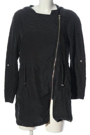 H&M Parka negro look casual
