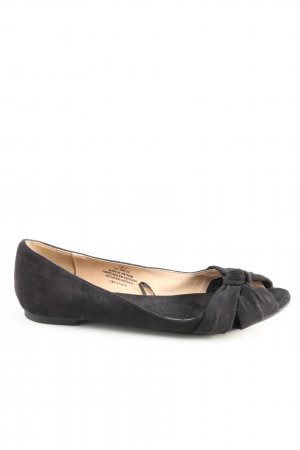 H&M Peep Toe Ballerinas black casual look