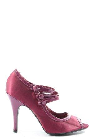 H&M Peeptoe Pumps pink Elegant