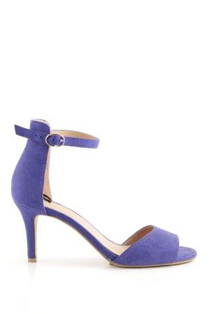 H&M Peeptoe Pumps lila Elegant