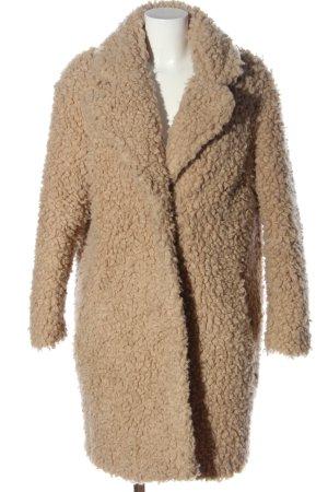 H&M Pelzmantel nude Casual-Look