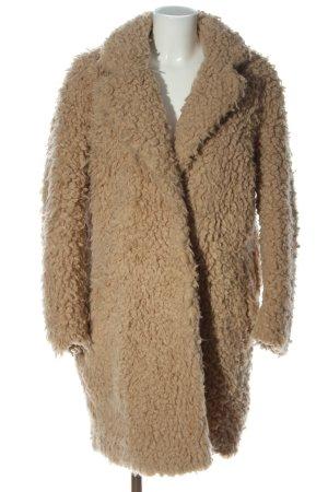 H&M Pelt Coat brown casual look