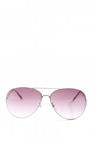 H&M Gafas de piloto rosa degradado de color look casual