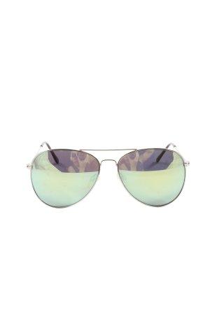 H&M Gafas de piloto verde look casual