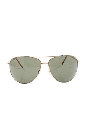 H&M Gafas de piloto color oro-caqui look casual